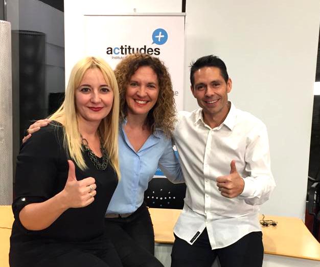 Elena Arnaiz, Natalia Ruiz, Fabián Villena